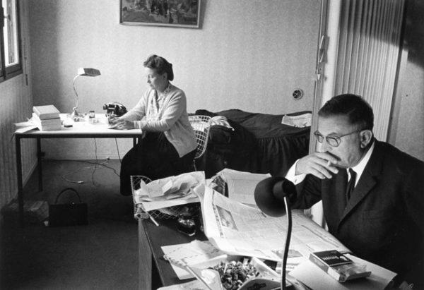 Simone de Beauvoir ve Jean-Paul Sartre